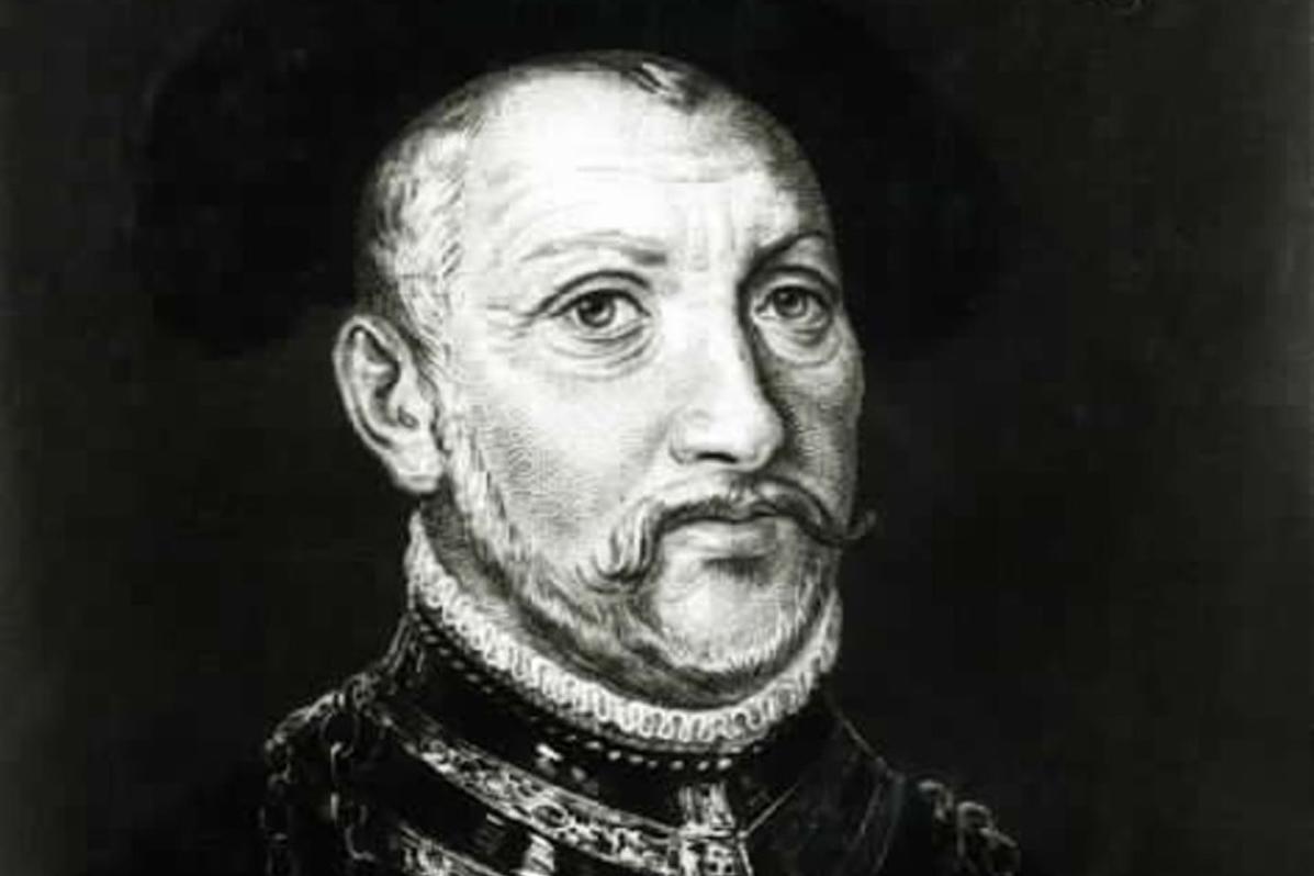 Porträt des Herzogs Ulrich von Württemberg, Gemälde um 1534