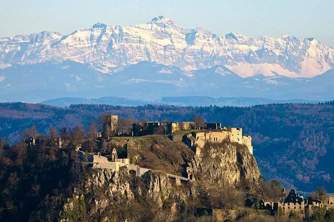 Festungsruine Hohentwiel, Außenaufnahme