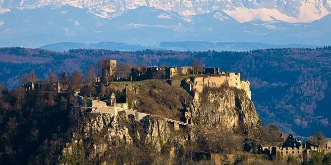 Festungsruine Hohentwiel; Foto: Staatliche Schlösser und Gärten Baden-Württemberg, Achim Mende