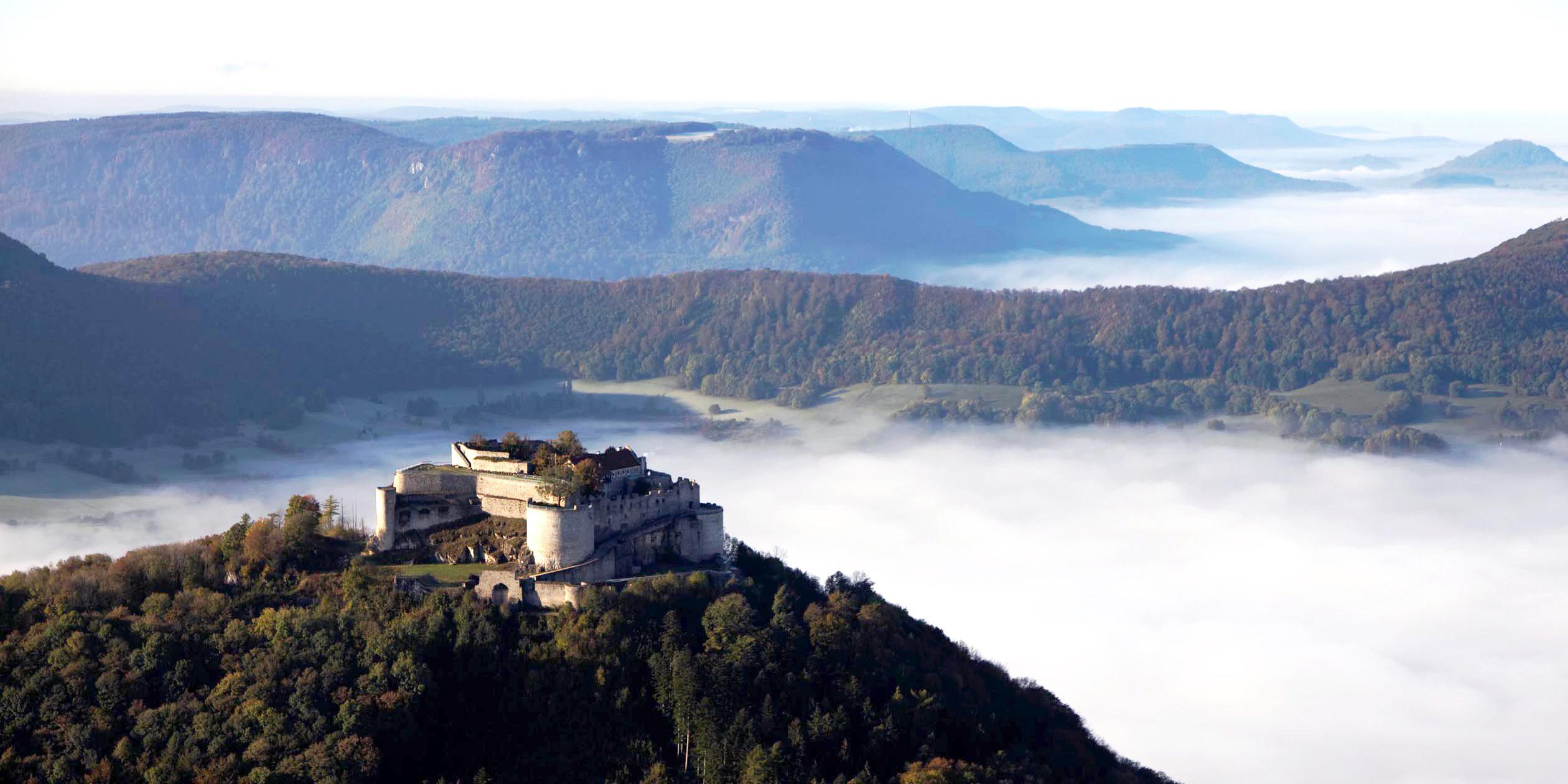 Fortress Ruins Hohenneuffen; photo: Staatliche Schlösser und Gärten Baden-Württemberg, Achim Mende