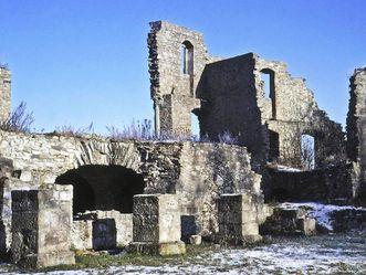 Festungsruine Hohentwiel, Obere Festung, Langer Bau
