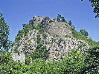 Festungsruine Hohentwiel, Außenansicht