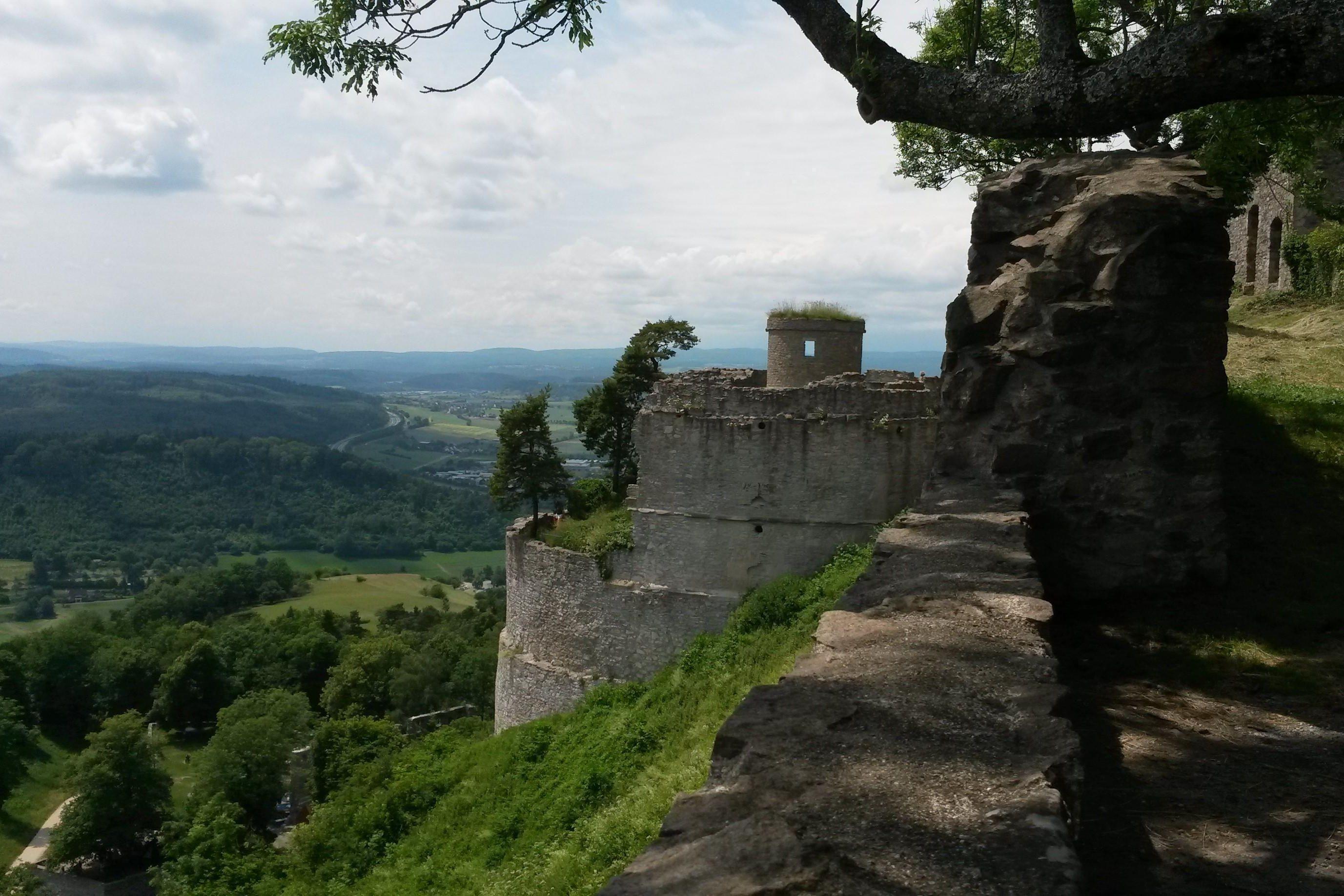 Festungsruine Hohentwiel, Ausblick auf das Umland; Foto: Staatsanzeiger für Baden-Württemberg GmbH & Co. KG, Cornelia Lindenberg