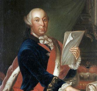 Porträt des Herzogs Carl Eugen von Württemberg, um 1760