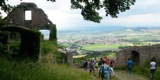 Festungsruine Hohentwiel, Besucher am Hohentwieltag