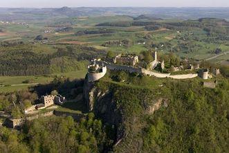 Festungsruine Hohentwiel, Luftaufnahme