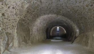 Festungsruine Hohentwiel, Gewölbekeller der oberen Festung