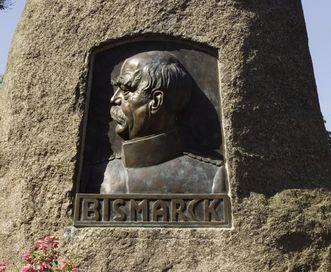 Bismarck monument in Karlsruhe-Durlach