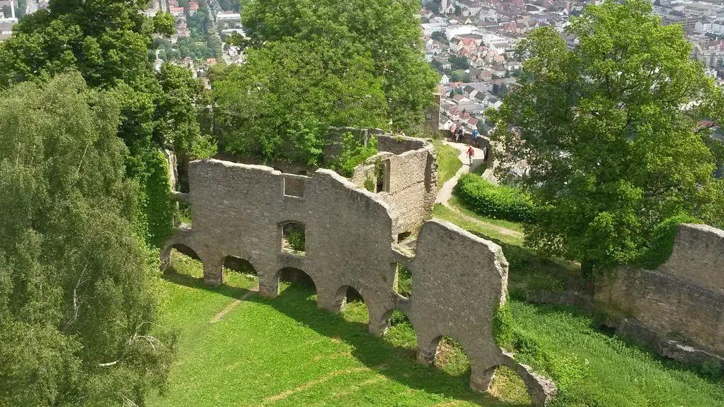 Festungsruine Hohentwiel, Langer Bau der oberen Festung; Foto: Staatsanzeiger für Baden-Württemberg