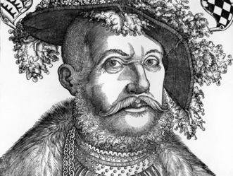 Porträt des Herzogs Ulrich von Württemberg, Holzschnitt von Hans Brosamer, um 1540