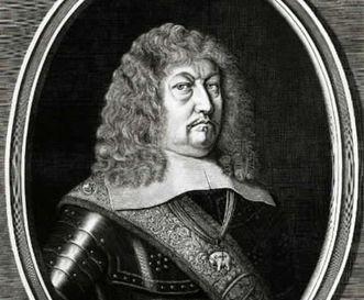 Porträt des Herzogs Eberhard III. von Württemberg, Kupferstich um 1654