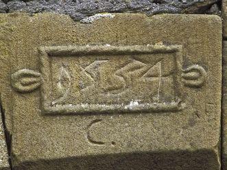 Schlussstein des Schlosses der Festungsruine Hohentwiel