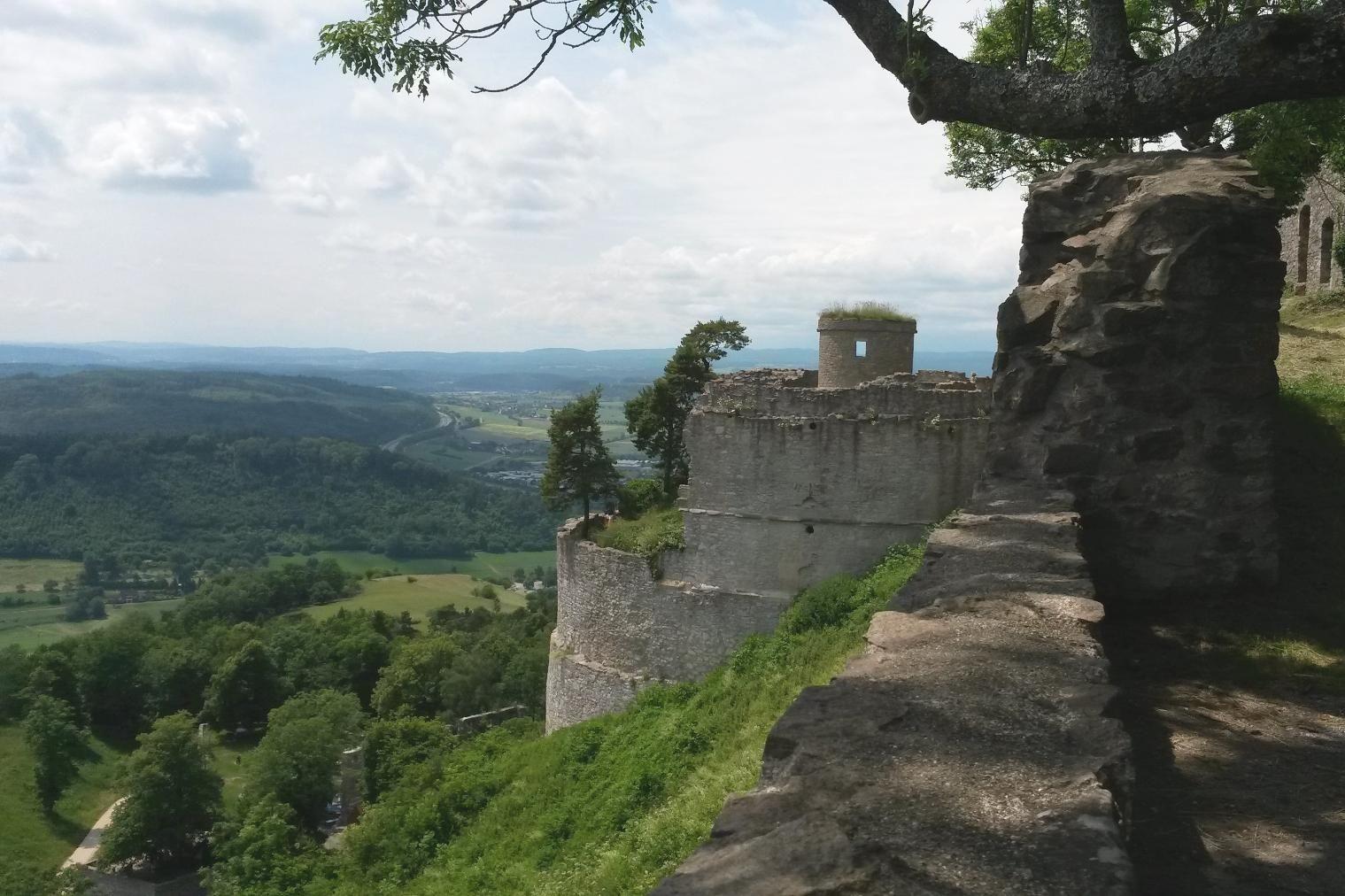 Festungsruine Hohentwiel, Foto: Staatsanzeiger Baden-Württemberg GmbH & Co.KG, Cornelia Lindenberg