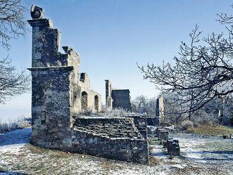 Festungsruine Hohentwiel, Außenmauer
