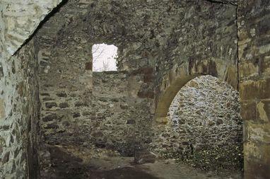 Festungsruine Hohentwiel, Gewölbe im Erdgeschoss der oberen Festung; Foto: Staatliche Schlösser und Gärten Baden-Württemberg, Arnim Weischer